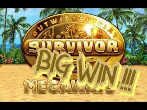 Survivor. Megaways. large WIN !!! -BTG-