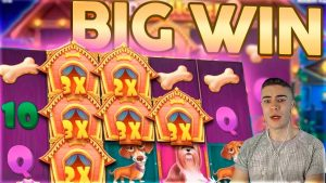THE domestic dog HOUSE DELIVERS i time again | HUGE WIN ON PRAGMATIC PLAY ONLINE SLOT MACHINE