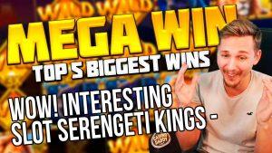 ЖЫЛДЫК жуманын ТОП 5 ЭҢ ЖОГОРКУ ЖОЛУ | казино бонус TWITCH | MEGA WIN ичине кирген SLOT SERENGETI KINGS