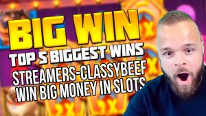 TOP 5 BIGGEST WINS Bannen SLOTS casino bonus SPILL | STREAMERS-CLASSYBEEF WIN grouss SUEN Inward SLOTS
