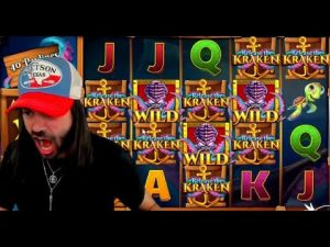 TOP 5 STREAMERS BIGGEST WINS ★ €36,387 novel tape hitting ON RELEASE THE KRAKEN SLOT