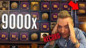 🔥TOP 5 casino bonus BIGGEST WINS OF THE calendar week! / HUGE WINS 5000x+ / 2019 MAY #1