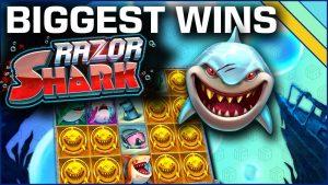 """10 geriausių """"Razor Shark"""" lošimų vietų laimėjimų"""