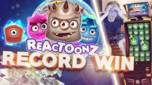 Top 5 Biggest Streamers Wins! large win on Reactoonz slot 40 000€
