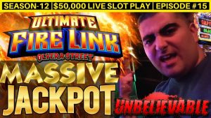 Unbelievable ✦MASSIVE HANDPAY JACKPOT✦ On High bound Ultimate flaming Link Slot Machine| SE-12 | EP #15