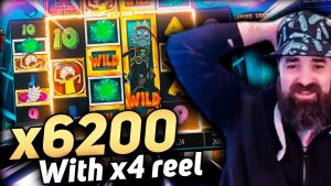 Unreal win x6200 on Rick together with Morty megaways – Top 5 large wins inward casino bonus slot