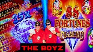 YES! large WIN!💰WINNING AT SEA★88 FORTUNES DIAMOND SLOT!★casino bonus GAMBLING!