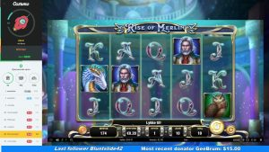 ascent Of Merlin – large Win