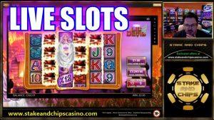 casino bonus SLOTS LIVE – LOADS OF BONUS – large Wins Stake together with chips gambling