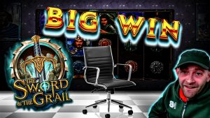 casino bonus activity: large Wins & large Bonuses With The Chair – Featuring Sword as well as The Grail