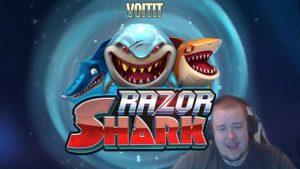 gran Bonus Win ★ Razor Shark ★ force Juego de tragamonedas, jugado en la versión actual de Vihjeareena