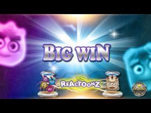 large WIN BEI REACTOONZ (PLAY'N GO) – 2€ EINSATZ!