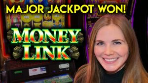 large WIN! Major Jackpot! Money Link Slot Machine! Bonuses!