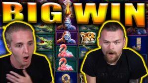 suur VÕIDU SUUR Ninasarvik MEGAWAYS - kasiinoboonus suured võidud
