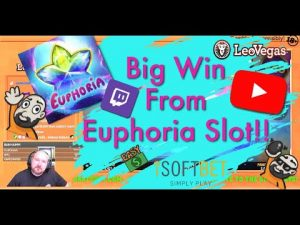 large Win From Euphoria Slot!!