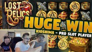 Win Win Relics גדול - הימור של 5 אירו - בונוס קזינו עם KioShiMa (k1o) מ- LIVE flow