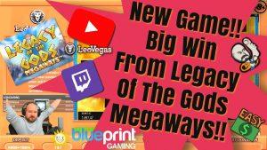 gioco romanzo! grande vittoria da Legacy Of The Gods MegaWays !!