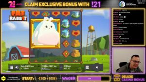 obese Rabbit 🎰 206X large WIN🤑 ➤ 21.com casino bonus 🍀
