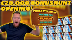 €20.000 BONUSHUNT OPENING! FINALLY SOME turn a profit? large WIN on Online Slots!
