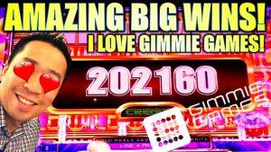★JACKPOTS & AMAZING large WINS!★ 😍 BEST OF GIMMIE GAMES! Slot Machine (Aristocrat)