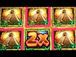 ★ PIRÂMIDES !! MEGA grande WIN! ★ JUNGLE WILD III e em maior extensão do que grande WINS Slot Machine Bonus (WMS)