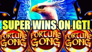 ★SUPER large WINS!★ GRIFFIN'S THRONE, FORTUNE GONG, HEX BREAKER Slot Machine (IGT)