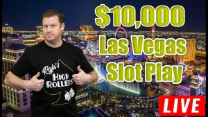 $10,000 Live casino bonus Slots from Las Vegas!