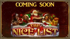 novel Christmas Video Slot 'The Nice listing' Coming shortly!