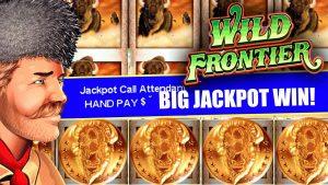 $50 HIGH bound BETS ★ WILD FRONTIER SLOT MACHINE JACKPOTS ➜ large JACKPOT WIN!