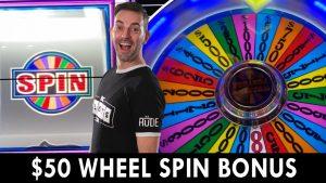 💵 $50 WHEEL SPIN BONUS! 💰 High boundary WINNING Wheel of Fortune 🎰 Agua Caliente #advert