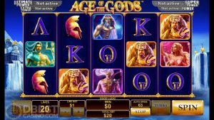 Age of the Gods Slot – large Win