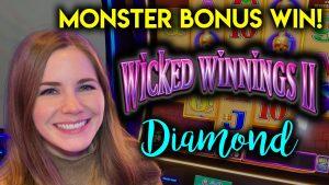Sesiune uimitoare pe victorie rău 2 diamant! Câștig enorm! Atât de multe jocuri SUPER slăbit!