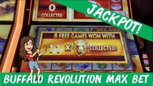 BUFFALO REVOLUTION MAX BET 💵 JACKPOT! 💰 PRADĖKITE atlaisvinti žaidimus su 11 BUFFALO GALVŲ! TARZANO GRANDAS