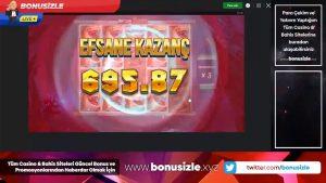 Slot Bonusizle | bonusi i kazinosë Meleği İle Yayından elzel Kareler !!! #slots #bigwin