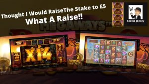 Buffalo Rising Megaways Bonus- large Win  casino bonus online Slots.