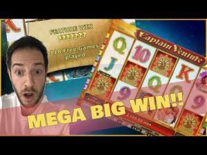 CAPTAIN VENTURE MEGA large WIN!! 118 unloose Spins!! ( Online casino bonus )
