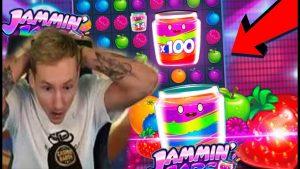 CasinoDaddy Top 5 Biggest Win Of The calendar week 🔥Mega Win Jammin Jars Slot Machine From Live Online casino bonus