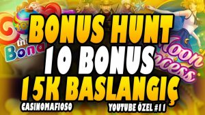 CasinoMafioso | BONUS HUNT BIGWIN 20-30TL BET BU SEFER KAZANDIK İŞTE SLOT #rulet #blackjack #casino bonus