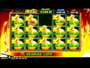 Chilli Heat large Win casino bonus Slots
