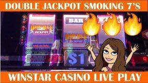 DOUBLE JACKPOT SIZZLING 7'S – SLOT MACHINE LIVE PLAY – WINSTAR casino bonus – $nine BETS