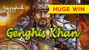 Dragon Link Genghis Khan Slot – UNEXPECTED large WIN, LOVED IT!