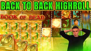 HOT HIGHROLL SESSION ON volume OF DEAD | HUGE WINS ON PLAY N GO ONLINE SLOT MACHINE