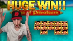 HUGE WIN!!! Age Of Privateers large WIN – casino bonus Slots from Casinodaddys live flow