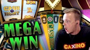 HUGE WIN on Crazy Time with 7x Multiplier CASH HUNT!!