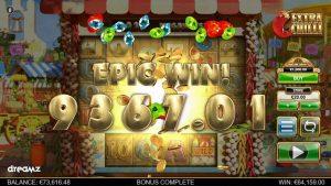 HUGE WIN on Extra Chilli at Dreamz casino bonus!