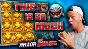 STOR VINN på Razor Shark (€ 20 BET!)