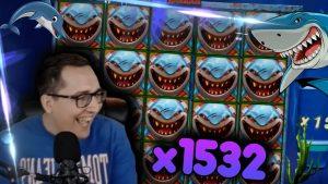 HUGE WIN x1600 on Razor Shark (force Gaming) – casino bonus Slots large Wins
