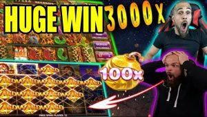 HUGE large WIN   casino bonus Streamers large Wins