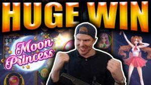 HUGE large WIN on Luna PRINCESS – casino bonus Slots large Wins