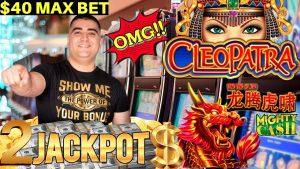 High bound CLEOPATRA 2 Slot Machine HANDPAY JACKPOT  | Mighty Cash Slot HANDPAY JACKPOT | component division-3 #2